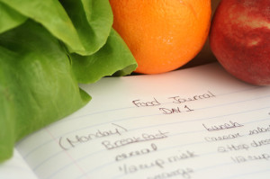Food elimination diet food diary