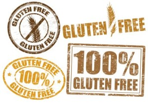 Gluten Free labels for Celiac Sufferers